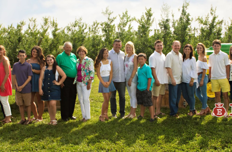 BLENDING FAMILY AND COMMUNITY By Angie Eckert
